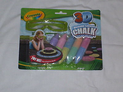 Crayola - 3 D washable Sidewalk Chalk