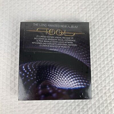 "Tool CD Fear Inoculum Limited Tri Fold 4"" HD Screen DELUXE EDITION Sealed New"