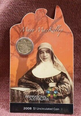 Mary Mackillop Inspirational Australians 2008 Uncirculated Coin