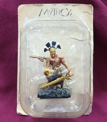 De Agostini Mythos Greek Gods Collection Figure Achilles Resin 6Cm Tall