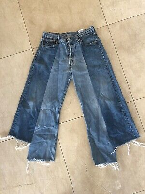 """Vintage Retro Levi's High waisted Jeans Reworked Distressed size 34"""""""