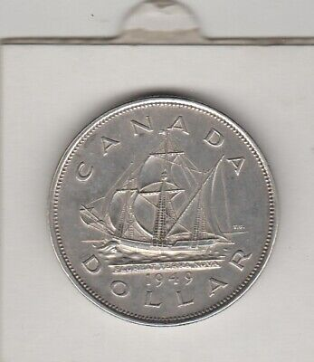 1949   Newfoundland Canada  Commemorative Dollar  King George V1