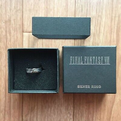 Final Fantasy Ⅷ Silver Ring 14 Squall Leonhart Accessories USED Silver 925