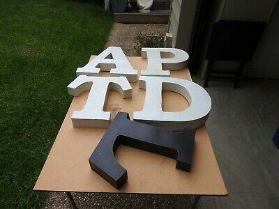 Large Metal Letters
