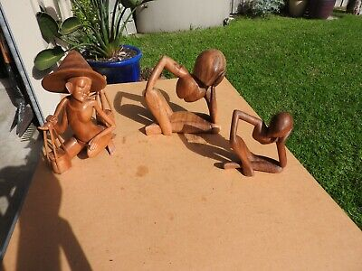 Wooden Statues Package