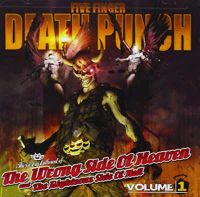 Five Finger Death Pu-Wrong Side Of Heaven/Righteous V1 (Us Import) Cd New
