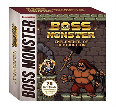 Boss Monster: Implements of Destruction Expansion (US IMPORT) GAME NEW