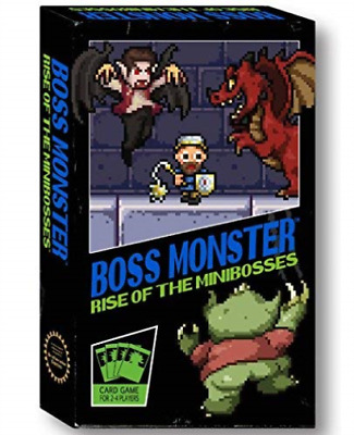 Boss Monster Rise of the Minibosses Card Game (US IMPORT) GAME NEW