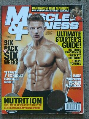 Muscle & Fitness Magazine March 2013