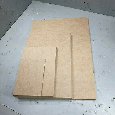 A1 A2 A3 A4 A5 A6 MDF Plain Boards Sheets, 2mm, 3mm, 4mm, 6mm, 9mm,  12mm, thick