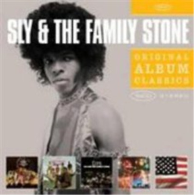 Sly & The Family Stone-Original Album Classics (US IMPORT) CD / Box Set NEW
