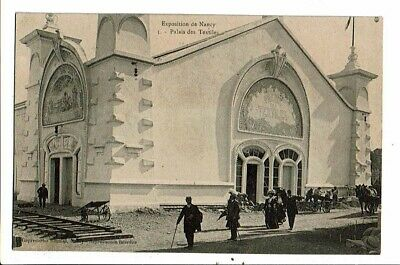 CPA-Carte Postale-FRANCE- Nancy- Exposition- Palais des textiles 1906? VMO14969