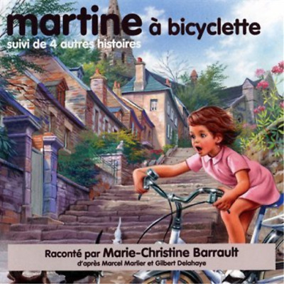 Marie-Christine Barrault-Martine A Bicyclette (US IMPORT) CD NEW