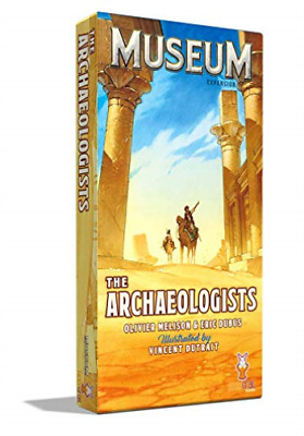 Museum: The Archeologists Exp. (US IMPORT) ACC NEW
