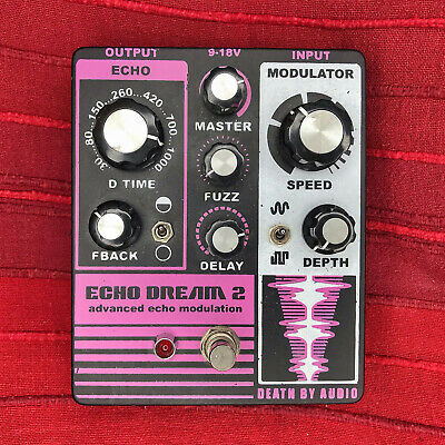 Death By Audio Echo Dream 2 Delay & Fuzz in Originalverpackung