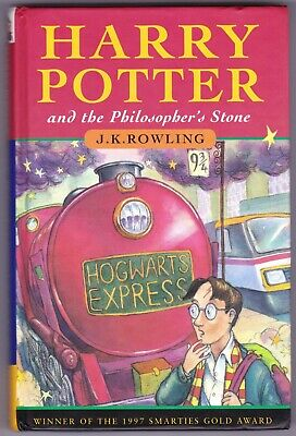 HARRY POTTER & THE PHILOSOPHER'S STONE 1st edition UK HB Hardback 1997 13th VG+