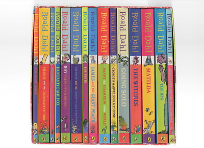 Roald Dahl Phizz Whizzing Collection 15 Books Box Set Paperback Vg