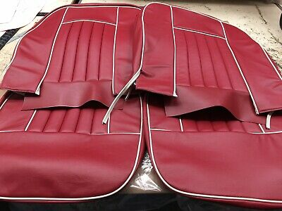MG MGB MBC GT 63-81 Black Front Waterproof Nylon Car Seat Covers Protectors