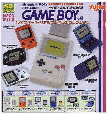 Gameboy History Collection By Yujin. All 6 Brand New And Sealed. Collectible!!