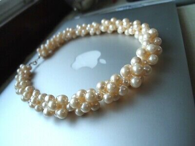Pearl Necklace Made in USA Fancy Dress Costume Accessory