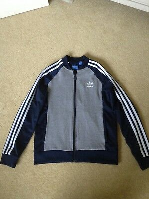Boys Girls Adidas Navy Jacket Age 11-12 rrp £38