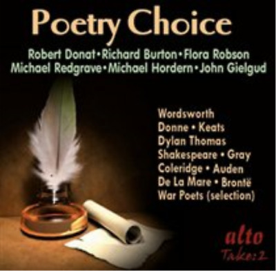 Michael Redgrave-Poetry Choice (US IMPORT) CD NEW