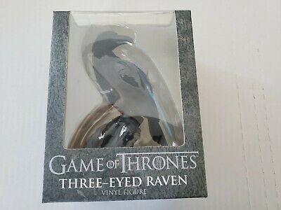 New Nib Game Of Thrones Three Eyed Raven Collectible Vinyl Figure Hbo Htf