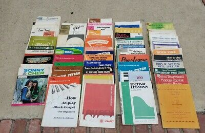 Lot of 50 plus Sheet music Piano and Organ