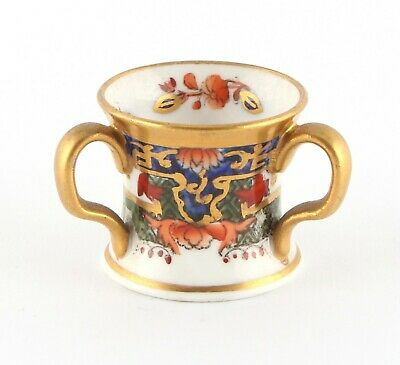 Copeland Spode miniature tyg, early 20th century, excellent condition