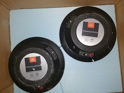 JBL 2446J 16 ohm 2 inch compression drivers PAIR