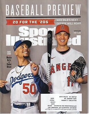 Sports Illustrated Magazine issue Spring 2020 Mookie Betts & Shohei Ohtani cover