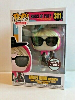 Funko Pop!: Birds Of Prey - Harley Quinn Incognito Spec. Series #311 **Uk Stock*