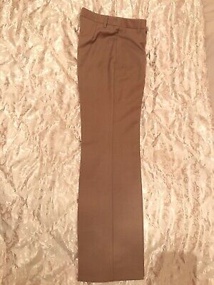United Colours Of Benneton Size 8 Wool Blend Straight Trousers.Zara