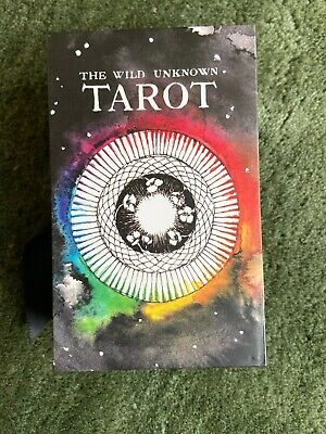 The Wild Unknown Tarot Deck 78 cards Early 2nd Edition Kim Kraus Complete