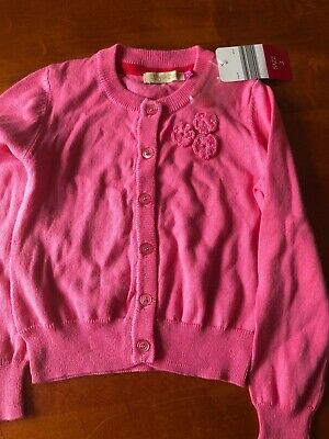 Size 3 Girls Cardigan New With Tags Sweet