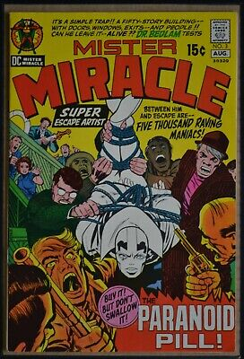 Mister Miracle # 3 : Very Fine- : August 1971. (Dc Comics).