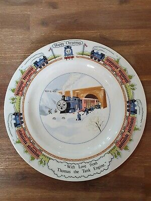 Thomas The Tank Engine Vintage Collectible Plate Wedgwood