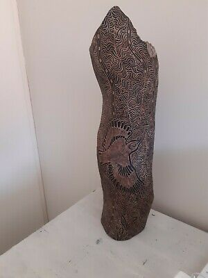 Old Aboriginal Carved Wood Art
