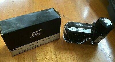 New MONT BLANC 50ml BOTTLE OF BLACK INK for FOUNTAIN PEN made in GERMANY