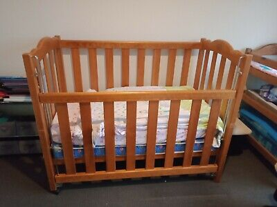 Baby cot and matching change table