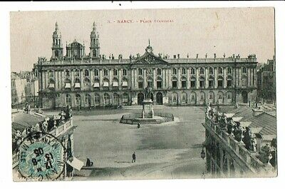 CPA-Carte Postale-FRANCE-Nancy- Place Stanislas- 1909- VM15010