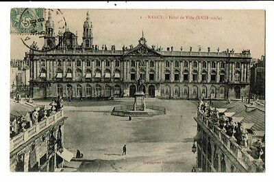 CPA-Carte Postale-FRANCE-Nancy- Hôtel de Ville VM15011