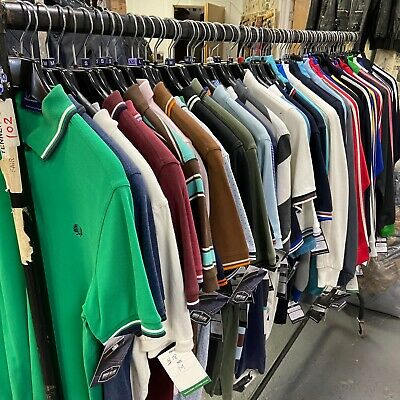 Vintage Wholesale Job Lot Fred Perry Polos & Track Tops 70 Pieces  #11