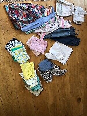 Girls 2-3 Years Summer Clothes Outfit Bundle - Dresses, Shorts, T-Shirts,
