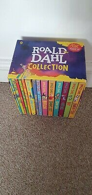 Roald Dahl 14 Books Box Set Collection New Covers, Going Solo, Matilda,