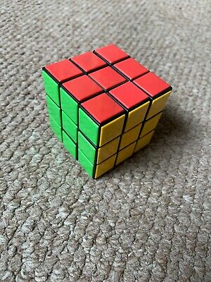 Kids Rubiks Cube Fun Original Toy Rubic Magic Mind Game Classic Rubix Puzzle DIY