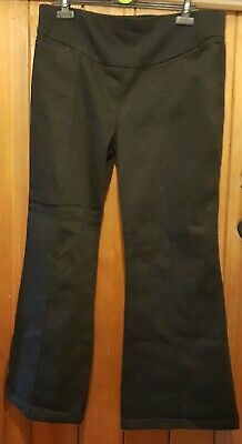 Black NEW LOOK BLOOM Maternity Trousers Size 16