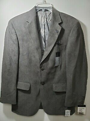 Andrew Fezza Blazer - Men's 38S - Polyester Suede - Water Repellent Stain Resist