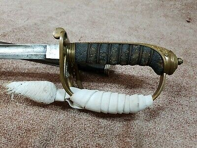 British Army Infantry Officers Sword & Knot