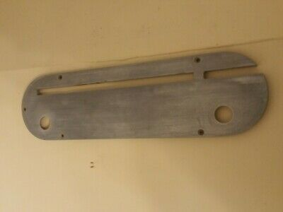 """Lot of 2 Table saw Blade Insert Plate 14.50"""" Tilting and Dado"""